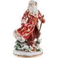 Fitz & Floyd Fitz&Floyd Figur Santa im roten Mantel 47,5 cm