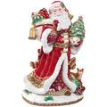 Fitz & Floyd Fitz&Floyd Figur Santa mit Geschenken 48,0 cm