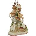 Fitz & Floyd Fitz&Floyd Figur Santa mit Häusern 47,0 cm
