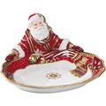 Fitz & Floyd Fitz&Floyd Schale Santa präsentiert 30,0 x 27,5 cm