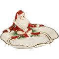 Fitz & Floyd Fitz&Floyd Schale Santa präsentiert 33 x 31,5 cm