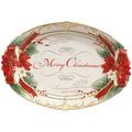 Fitz & Floyd Fitz&Floyd Schale Weihnachtsstern 28 x 19 cm