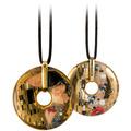 "Goebel Halskette Gustav Klimt - ""Der Kuss"" 58,0 cm"