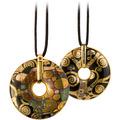 """Goebel Halskette Gustav Klimt - """"Die Erfüllung"""" 58,0 cm"""