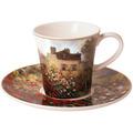 "Goebel Kaffeetasse Claude Monet - ""Das Künstlerhaus"" 8,5 cm"