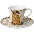 "Goebel Kaffeetasse Gustav Klimt - ""Der Kuß"" 8,5 cm"