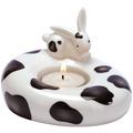 Goebel Kerzenhalter Cow Bunny 8,0 cm