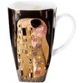 """Goebel Künstlertasse Gustav Klimt - """"Der Kuss"""" 14,0 cm"""
