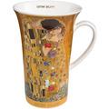 """Goebel Künstlertasse Gustav Klimt - """"Der Kuss"""" 15,0 cm"""