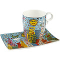 "Goebel Künstlertasse James Rizzi - ""My New York City Day"" 12,0 cm"