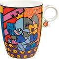 "Goebel Künstlertasse Romero Britto - ""Spring Elephant"" 11,0 cm"