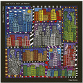 "Goebel Magnettafel J. Rizzi - ""You Can't Take the City Out of Rizzi"" 45,0 x 45,0 cm"
