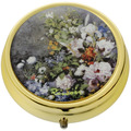 "Goebel Pillendose Auguste Renoir - ""Frühlingsblumen"" 5 cm"