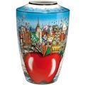 Goebel Pop Art Charles Fazzino Butterflies over New York - Vase