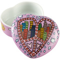 "Goebel Dose James Rizzi - ""Peace And Love in My City"" 4,0 cm"