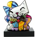 Goebel Pop Art Romero Britto Blue Cat - Figur