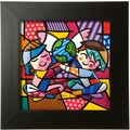 Goebel Pop Art Romero Britto Children of the World - Reliefbild
