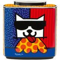 Goebel Pop Art Romero Britto LA Cat - Vase