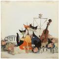 "Goebel Magnettafel Rosina Wachtmeister - ""Musica Romantica"" 45 x 45 cm"