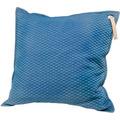 Goebel Kissen Aurora Blue - mit Ledergriff 60 x 60 cm