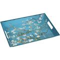 "Goebel Tablett Vincent van Gogh - ""Mandelbaum blau"" 5,0 cm"