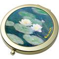 "Goebel Taschenspiegel Claude Monet - ""Seerosen am Abend"" D  7,5 cm"