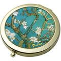 "Goebel Taschenspiegel Vincent van Gogh - ""Mandelbaum blau"" 7,5 cm"