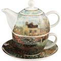 "Goebel Tea for One Claude Monet - ""Das Künstlerhaus"" 15,5 cm"