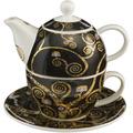 """Goebel Tea for One Gustav Klimt - """"Lebensbaum"""" 15,5 cm"""