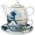 "Goebel Tea for One Katsushika Hokusai - ""Die Welle"" 15,5 cm"