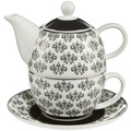 "Goebel Tea for One Maja von Hohenzollern - Design ""Floral"" 15,5 cm"
