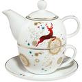"Goebel Tea for One Weihnachten - ""Mandala"" 15,5 cm"