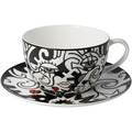 "Goebel Tee-/ Cappuccinotasse Billy the Artist - ""Two in One"" 8,5 cm"