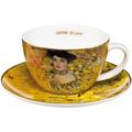 """Goebel Tee-/ Cappuccinotasse Gustav Klimt - """"Adele Bloch-Bauer"""" 6,5 cm"""