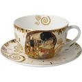 """Goebel Tee-/ Cappuccinotasse Gustav Klimt - """"Der Kuß"""" 8,5 cm"""
