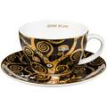 """Goebel Tee-/ Cappuccinotasse Gustav Klimt - """"Der Lebensbaum"""" 6,5 cm"""