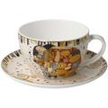 "Goebel Tee-/ Cappuccinotasse Gustav Klimt - ""Die Erfüllung"" 7,0 cm"