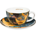 """Goebel Tee-/ Cappuccinotasse Gustav Klimt - """"Die Musik"""" 6,5 cm"""