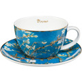 "Goebel Teetasse Vincent van Gogh - ""Mandelbaum blau"" 7,0 cm"