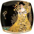 """Goebel Teller Gustav Klimt - """"Adele Bloch-Bauer"""" 21 x 21 cm"""