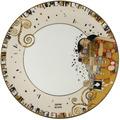 """Goebel Teller Gustav Klimt - """"Die Erfüllung"""" ø23 cm"""