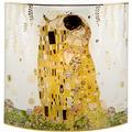 """Goebel Tischlampe Gustav Klimt - """"Der Kuss"""" 25,0 cm"""