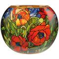 """Goebel Tischlampe Louis Comfort Tiffany - """"Orientalische Mohnblume"""" 30,0 cm"""