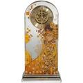 """Goebel Tischuhr Gustav Klimt - """"Adele Bloch-Bauer"""" 12,5 x 25,5 cm"""