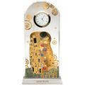"""Goebel Tischuhr Gustav Klimt - """"Der Kuss"""" 11,0 x 23,0 cm"""