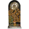 """Goebel Tischuhr Gustav Klimt - """"Der Lebensbaum"""" 15x32 cm"""