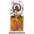 """Goebel Tischuhr Louis Comfort Tiffany - """"Sittiche"""" 15,0 x 32,0 cm"""