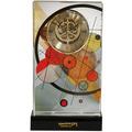 "Goebel Tischuhr Wassily Kandinsky - ""Kreise im Kreis"" 12,5 x 22,0 cm"