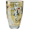 "Goebel Vase Carl Larsson - ""Frühstück im Freien"" 19,0 cm"