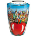 "Goebel Vase Charles Fazzino - ""Butterflies over New York"" 41,0 cm"